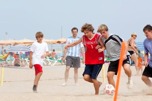 Beachsoccerturnier