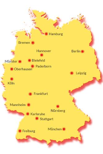Normandie frankreich karte landkarte städte länder flüsse picture
