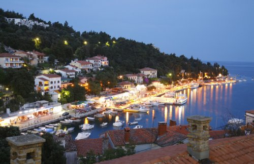 Rabac by night