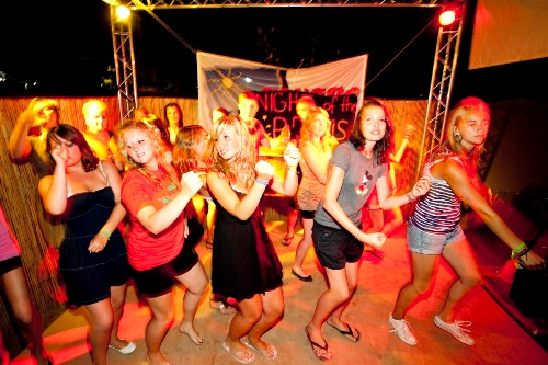 Malgrat de Mar - Summer Club - Abendprogramm