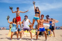 Nautic Almata - Cheerleading am Strand