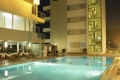 Rimini - Hotel Ascot - Pool at night