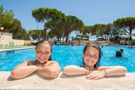 Calella Pool im Camp