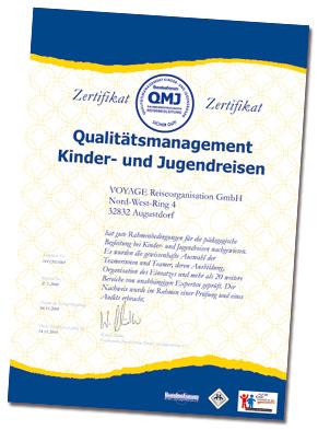 Zertifikat QMJ als PDF-Datei