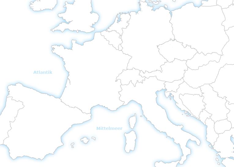 Deutschland Frankreich Karte.Surf Camps Wellenreiten Windsurfen Go Jugendreisen Frankreich